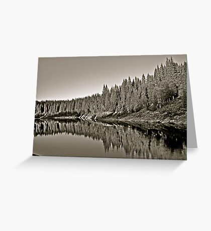 Namsen River . Moen . Trondelag . Norway. by Brown Sugar . Views (291) thx! Greeting Card