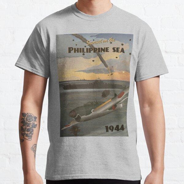 Philippine Sea 1944 - Turkey Shoot Travel Poster Classic T-Shirt