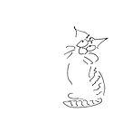 Kätzchen beobachtet von cartoonsbyroth