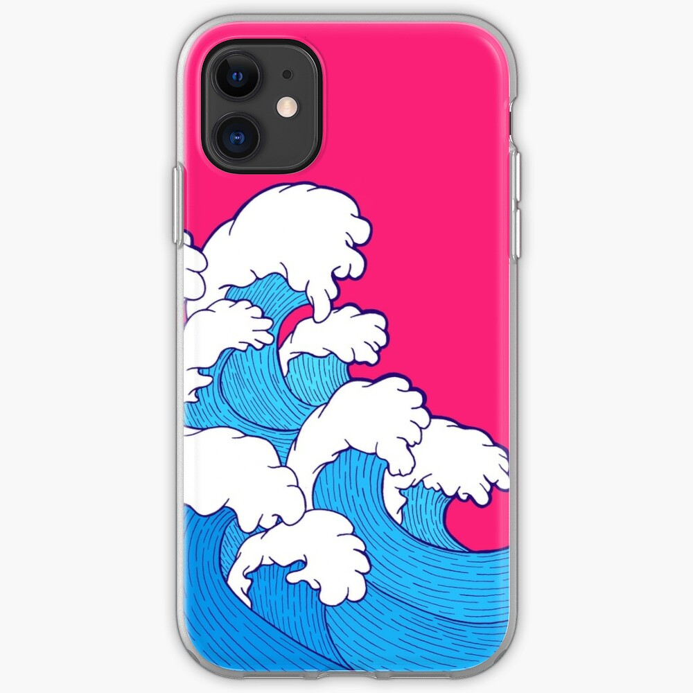 As the waves roll in iPhone Soft Case