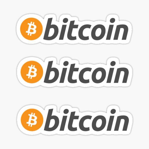 Autocollant Bitcoin Sticker