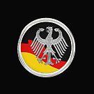 German Eagle and Flag by edsimoneit