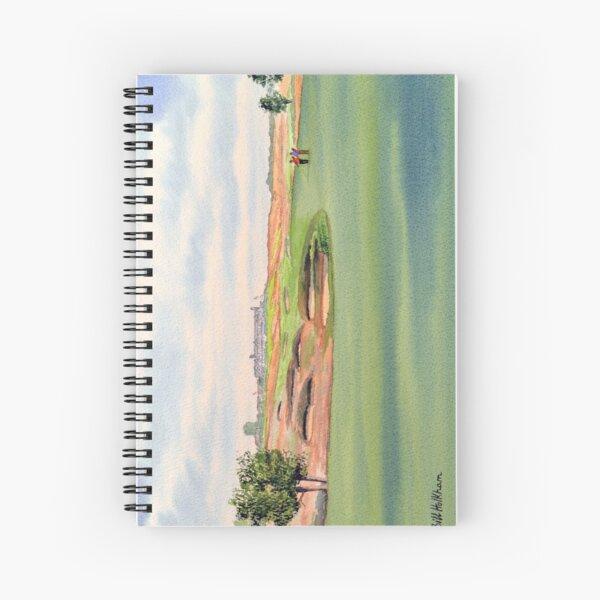 Shinnecock Hills Golf Course Spiral Notebook