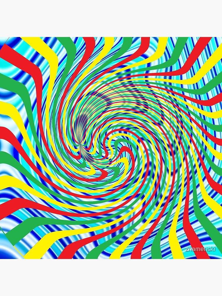 #Corkscrew, #anfractuous, #винтовой, #screw, витой, stranded, винтообразный, Hypnotic, Mesmeric, психоделический, psychedelic by znamenski