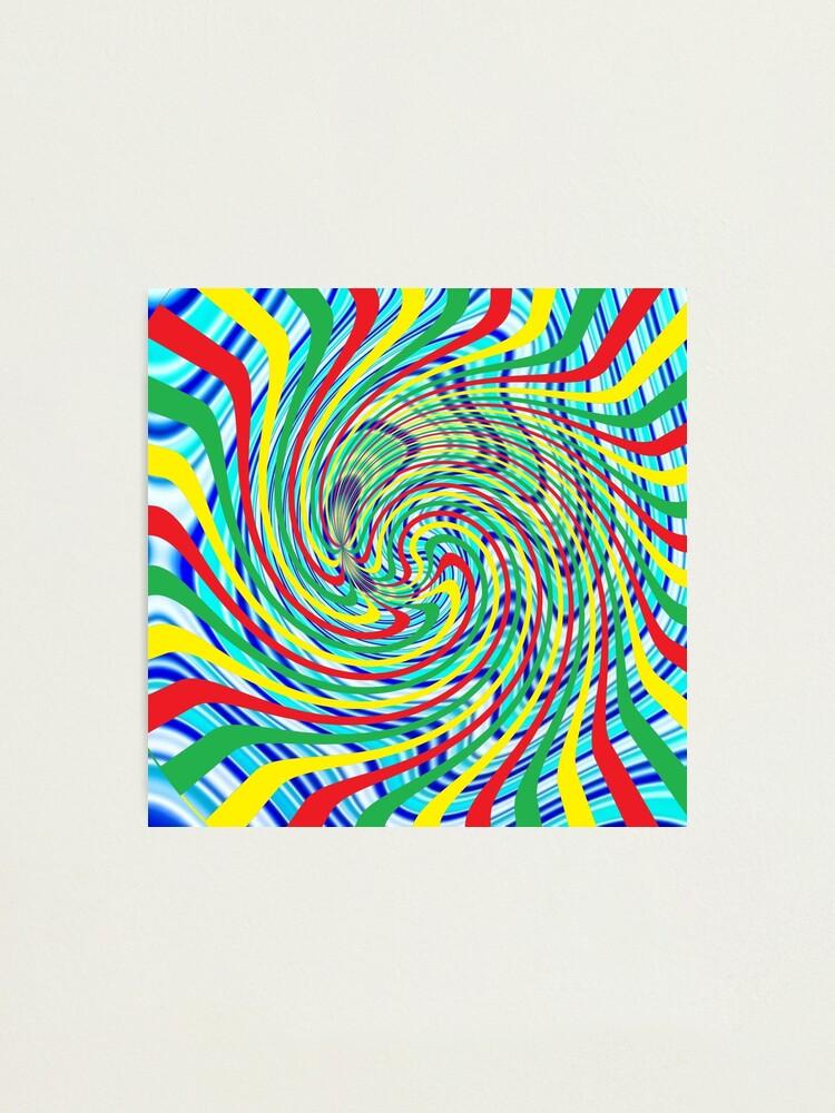 Alternate view of #Corkscrew, #anfractuous, #винтовой, #screw, витой, stranded, винтообразный, Hypnotic, Mesmeric, психоделический, psychedelic Photographic Print