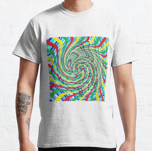 #Corkscrew, #anfractuous, #винтовой, #screw, витой, stranded, винтообразный, Hypnotic, Mesmeric, психоделический, psychedelic Classic T-Shirt