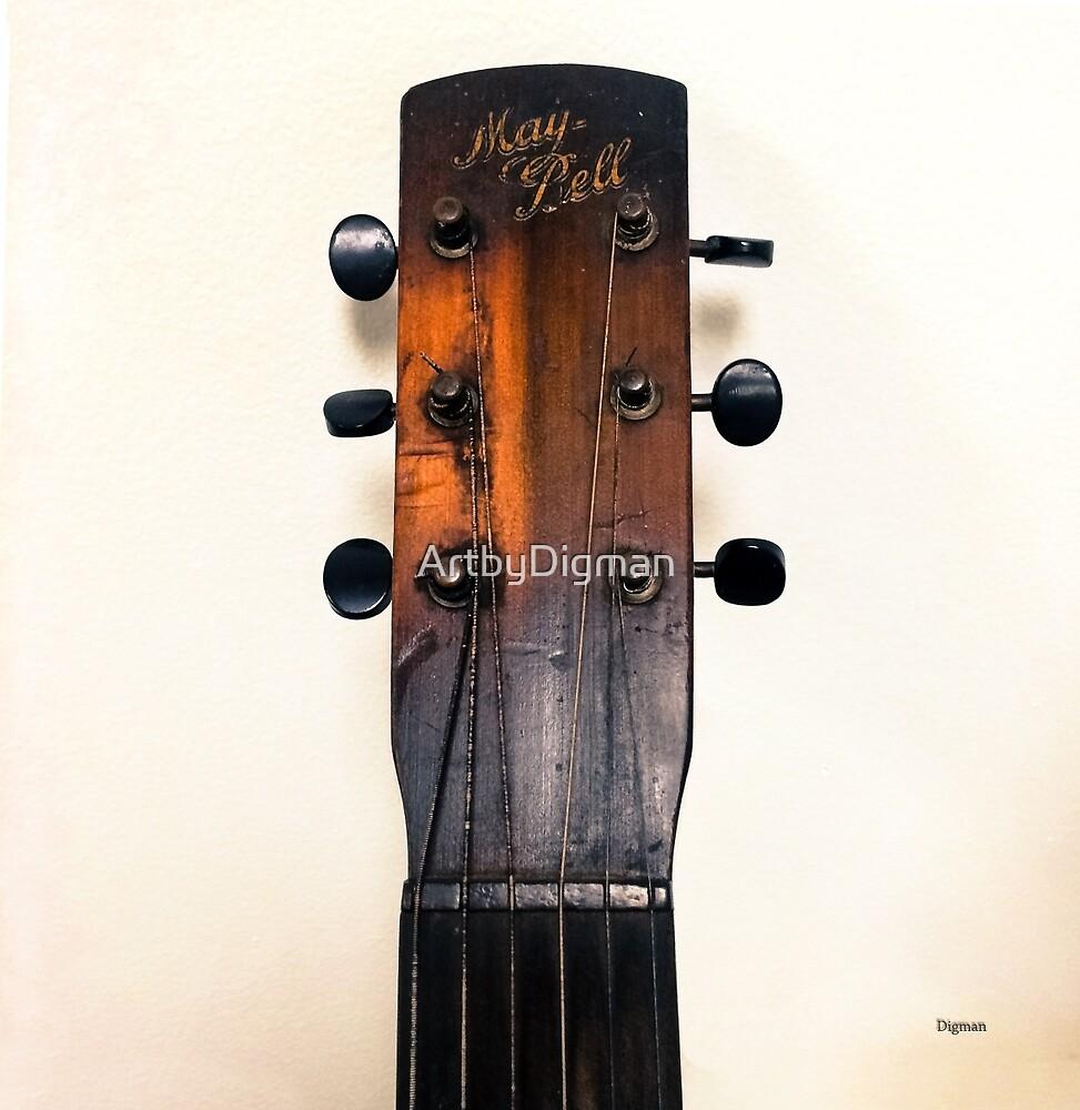 Guitar Spinster  by ArtbyDigman