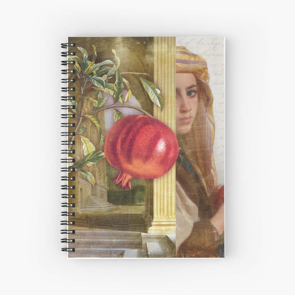 The Pomegranate Eater Spiral Notebook