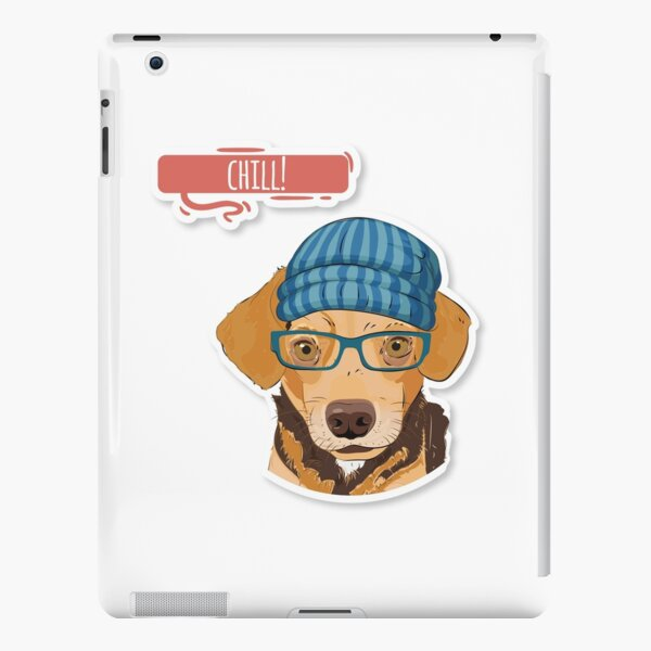 "Hipster Mixed ""Chill"" iPad Snap Case"