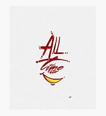 All Time Star Photographic Print