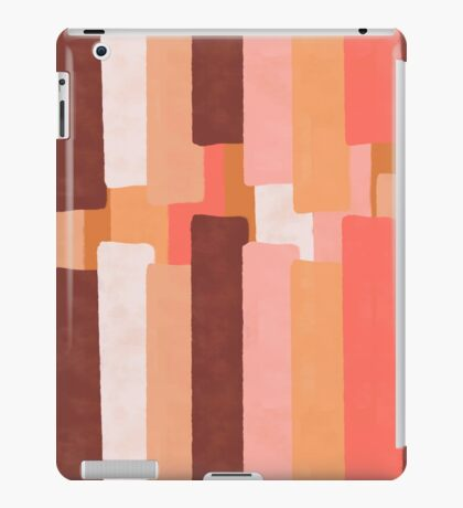 Line In Coral #redbubble #abstractart iPad Case/Skin