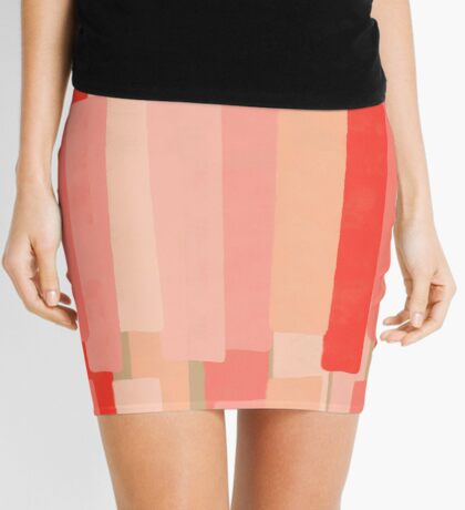 Like In Coral #redbubble #abstractart Mini Skirt