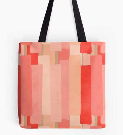 Like In Coral #redbubble #abstractart Tote Bag