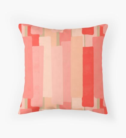 Like In Coral #redbubble #abstractart Floor Pillow