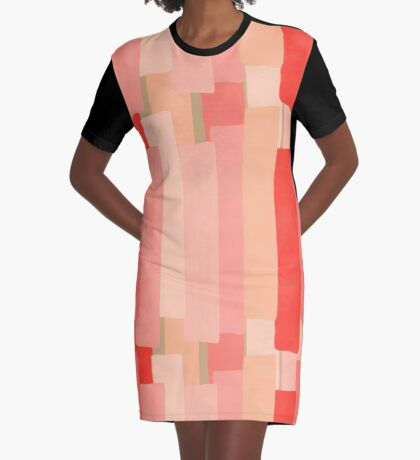 Like In Coral #redbubble #abstractart Graphic T-Shirt Dress