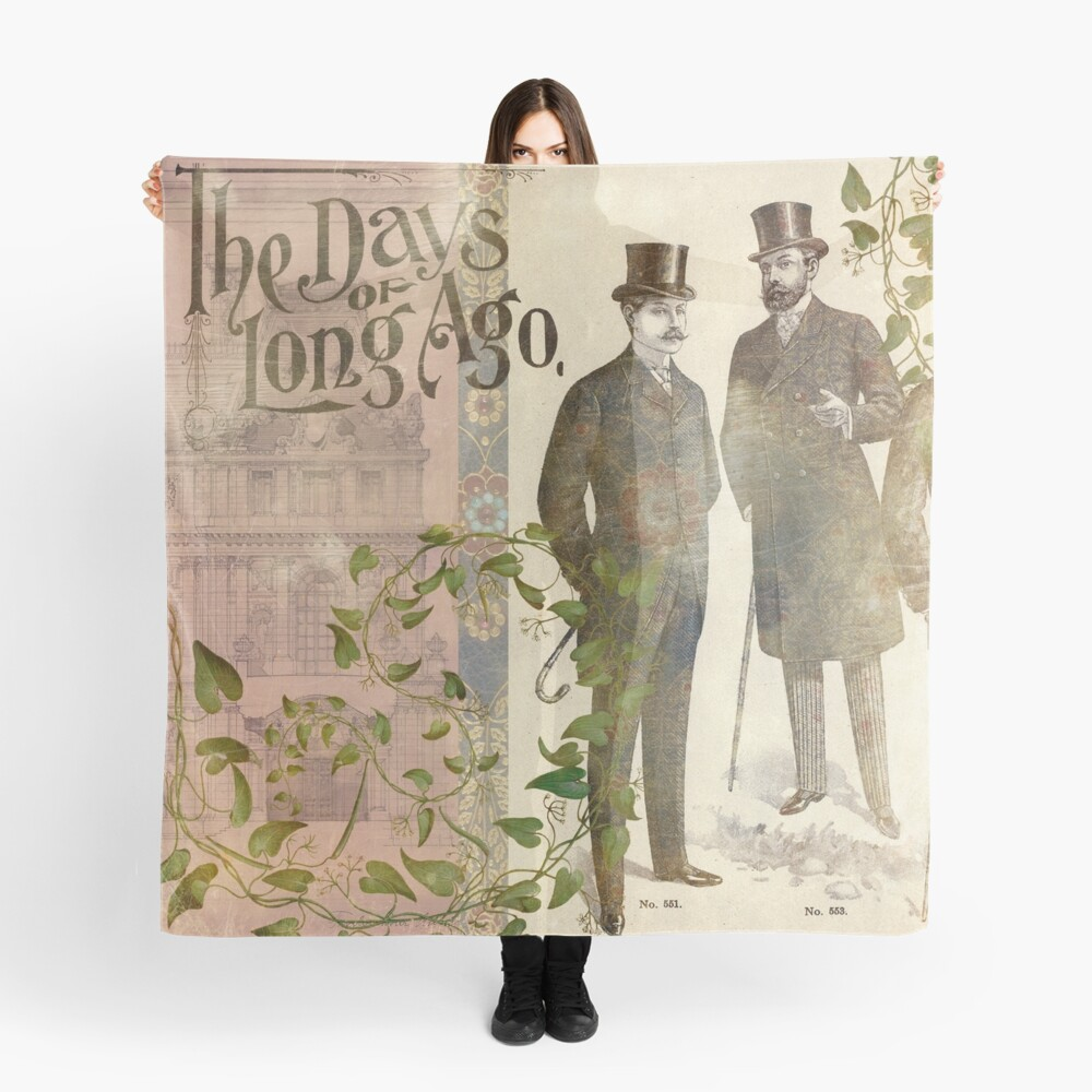 The Days of Long Ago Scarf
