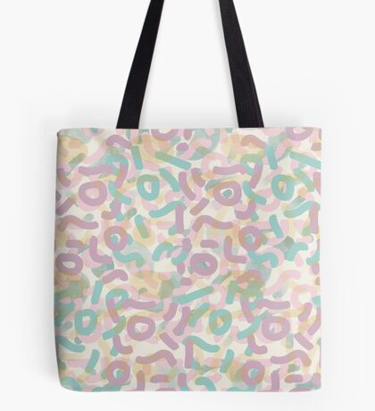 Funny Mess #redbubble #abstractart Tote Bag