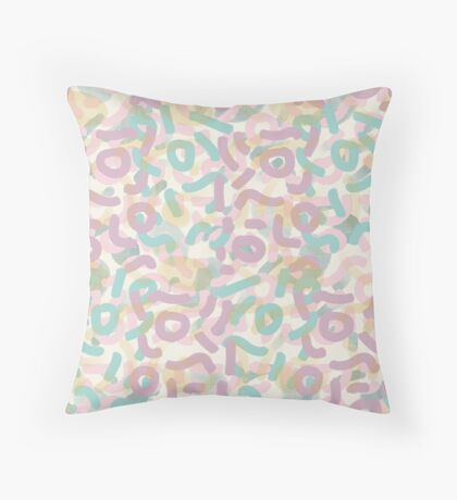Funny Mess #redbubble #abstractart Floor Pillow