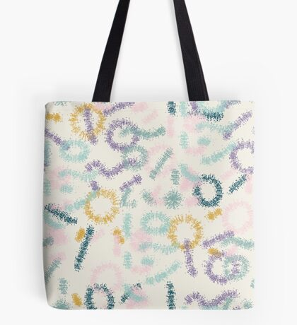 Playful #redbubble #abstractart Tote Bag