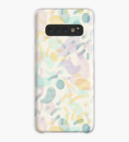 Dotted Blobs #redbubble #abstractart Case/Skin for Samsung Galaxy