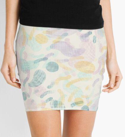 Dotted Blobs #redbubble #abstractart Mini Skirt