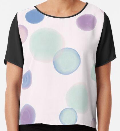 Drops #redbubble #abstractart Chiffon Top