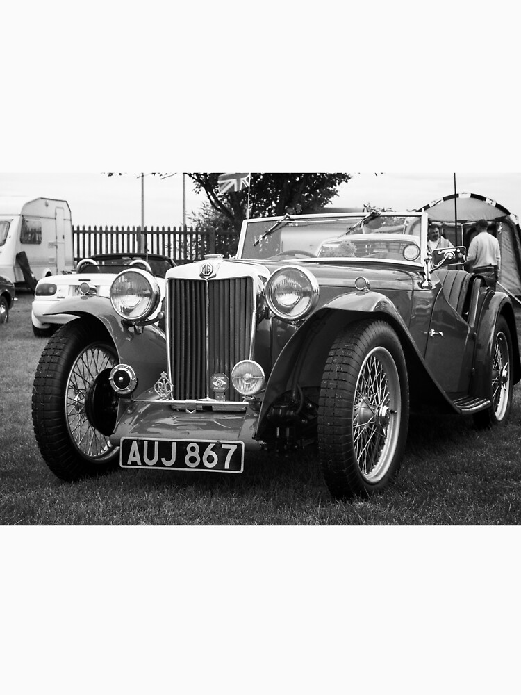 Vintage MG-T Sports Car by robcole