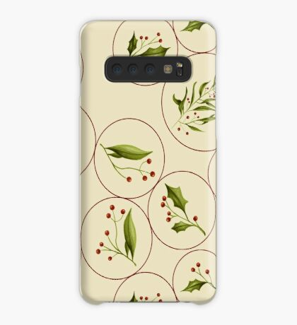 Vintage Baubles #redbubble #xmas Case/Skin for Samsung Galaxy