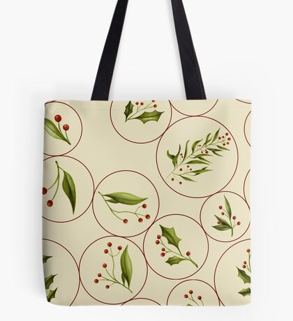 Vintage Baubles #redbubble #xmas Tote Bag