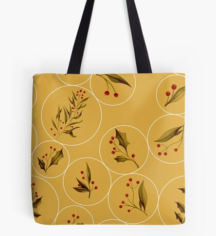 Cozy Baubles #redbubble #xmas Tote Bag
