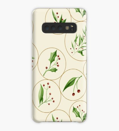 Berries Baubles #redbubble #xmas Case/Skin for Samsung Galaxy
