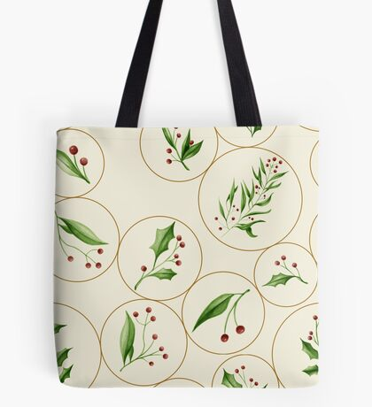 Berries Baubles #redbubble #xmas Tote Bag