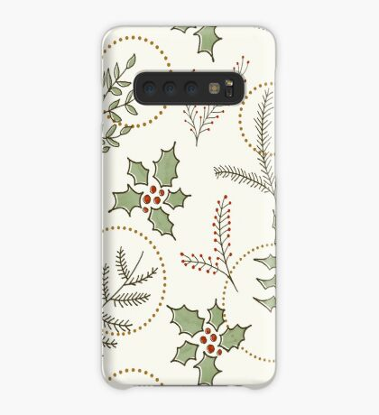 Classic Winter #redbubble #xmas Case/Skin for Samsung Galaxy