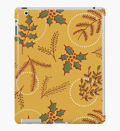 Classic Cozy #redbubble #xmas iPad Case/Skin