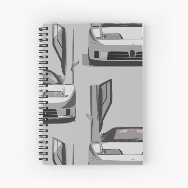 Bugatti EB110 Spiral Notebook