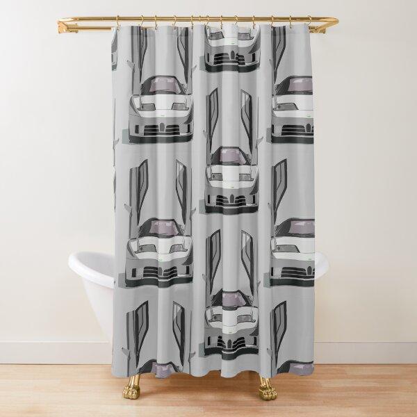 Bugatti EB110 Shower Curtain
