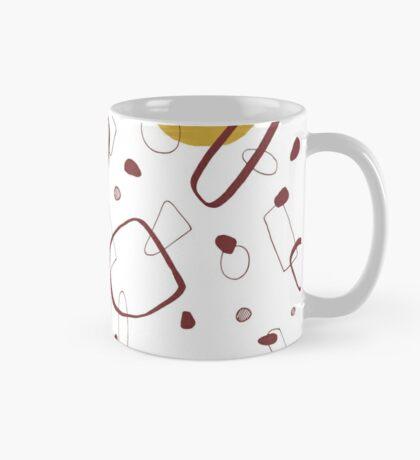 Doodle Pattern 02 #redbubble #doodle #pattern Mug