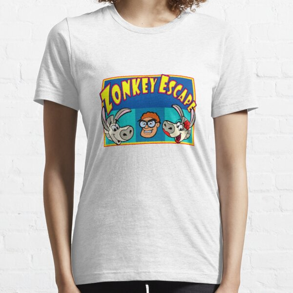 Zonkey Escape 3 heads  Essential T-Shirt