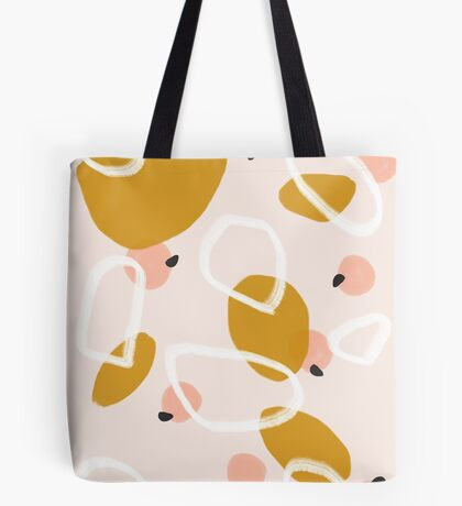 Abstract Fall III #redbubble #abstractart Tote Bag