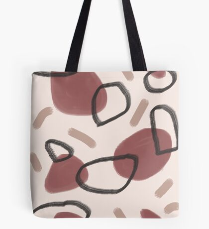 Abstract Fall II #redbubble #abstractart Tote Bag