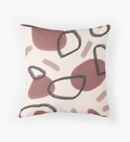 Abstract Fall II #redbubble #abstractart Floor Pillow