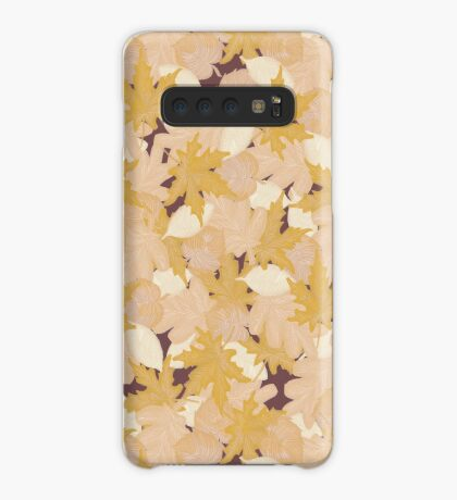 Muted Fall #redbubble #fall Case/Skin for Samsung Galaxy
