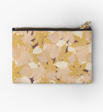 Muted Fall #redbubble #fall Zipper Pouch