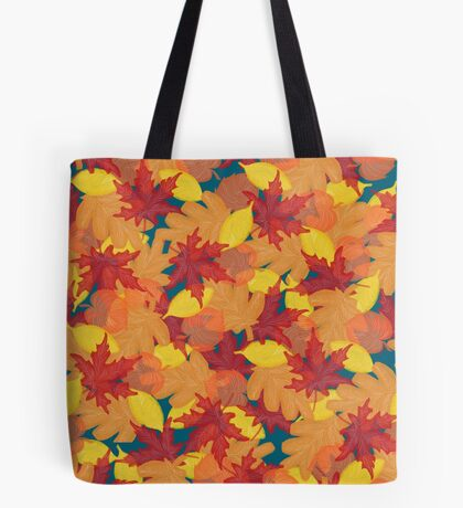 Bright Fall #redbubble #fall Tote Bag