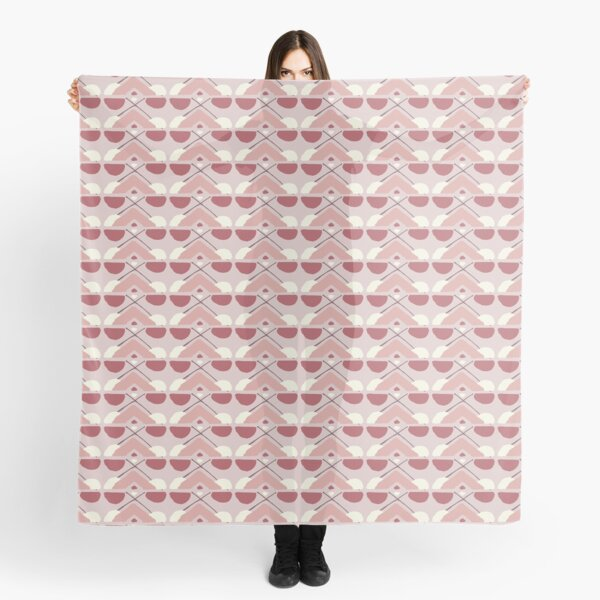 Pink Fall Ethnic #redbubble #ethnic Scarf
