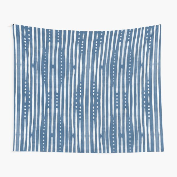 Shibori Tribal Tapestry