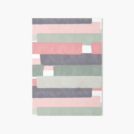 Soothing #redbubble #abstractart Art Board Print