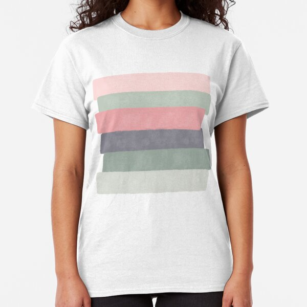 Soothing #redbubble #abstractart Classic T-Shirt