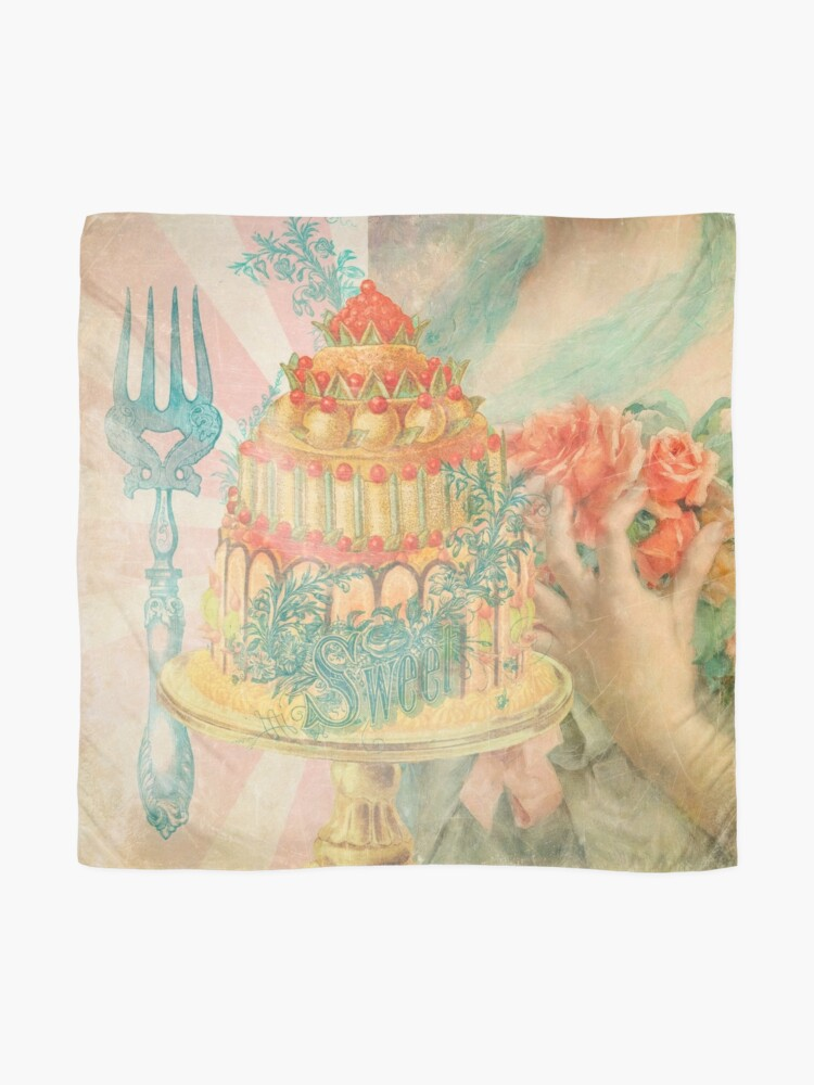 Alternate view of Let Them Eat Cake Scarf