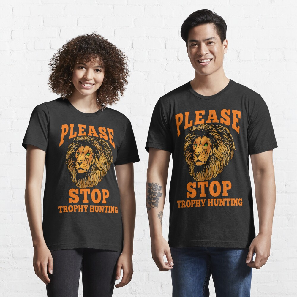 STOP TROPHY HUNTING Essential T-Shirt